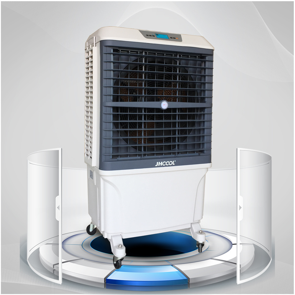 China 8000cmh Big Airflow Industrial Portable Evaporative Air Cooler Photos Pictures Made In China Com