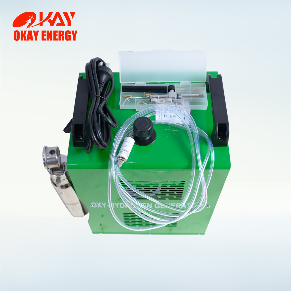 Wax Welder Small Portable Oxyhydrogen Jewelry Laser Welding Machine 220V pictures & photos