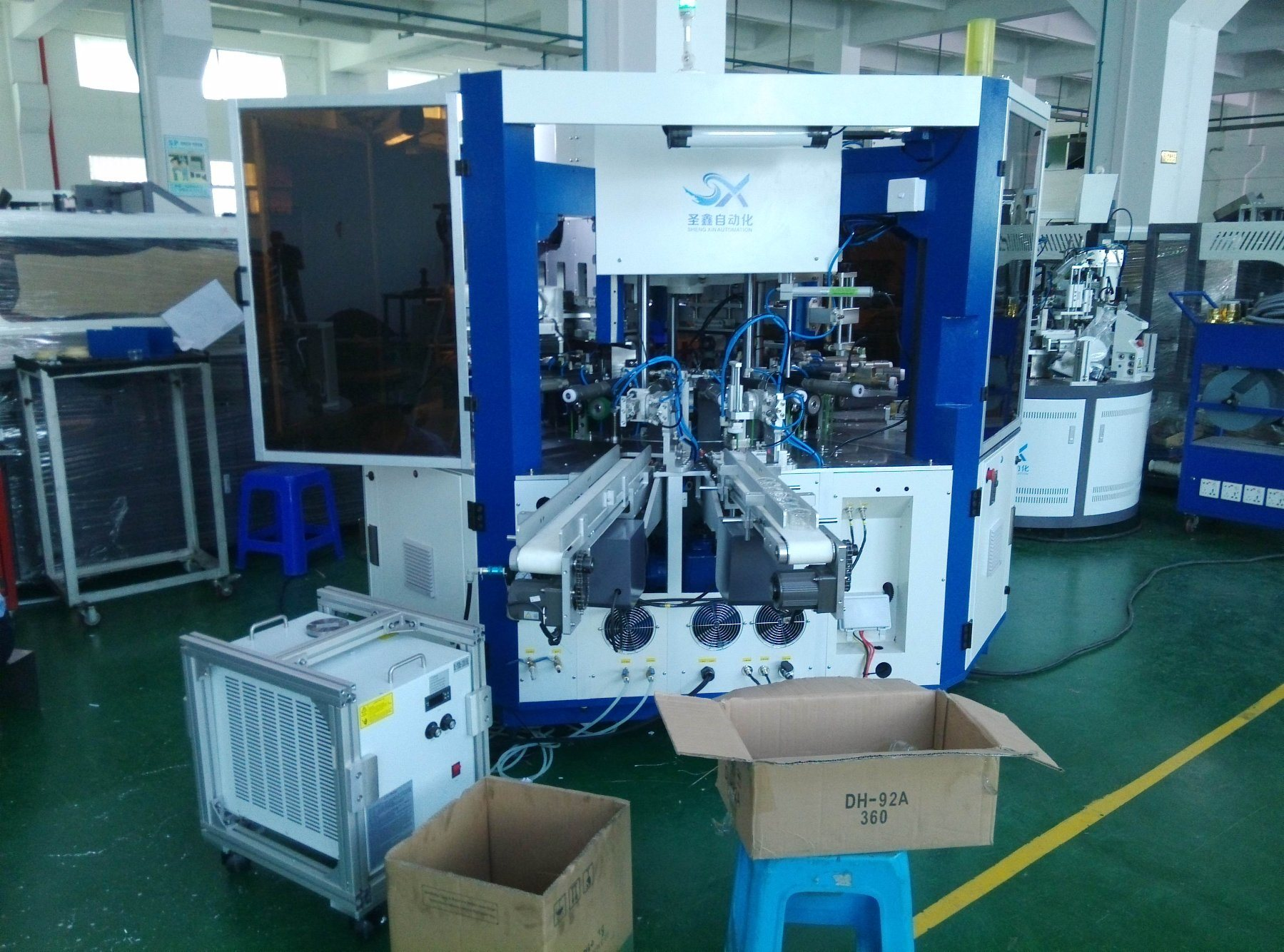 Automatic Screen Printing Machine for Acrylic Jars and Plastic Jars Tubes