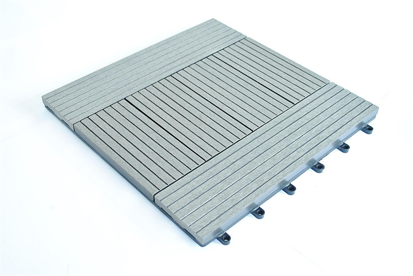 China Different Patterns DIY Deck Tile/Interlocking Deck Tiles Made ...