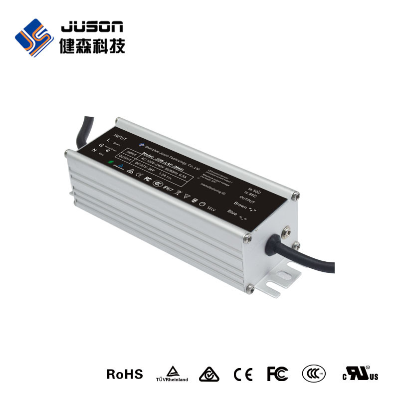 Surge Protection 24VDC Power Supply LED Street Light Driver