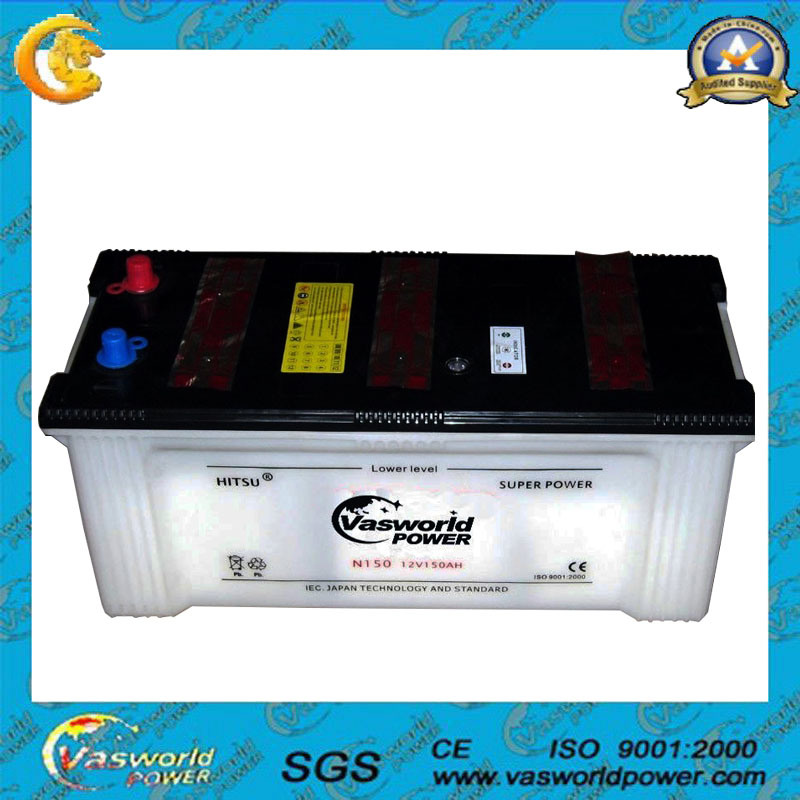 China Battery 12v190ah Dry Charge Car For Truck