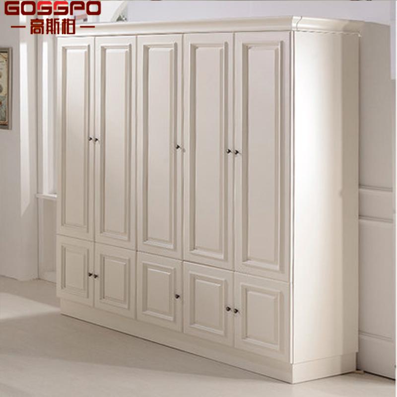 China White Painting Bedroom Closet Wood Wardrobe Cabinets Gsp17 001 China Wardrobe White Painting Wardrobe