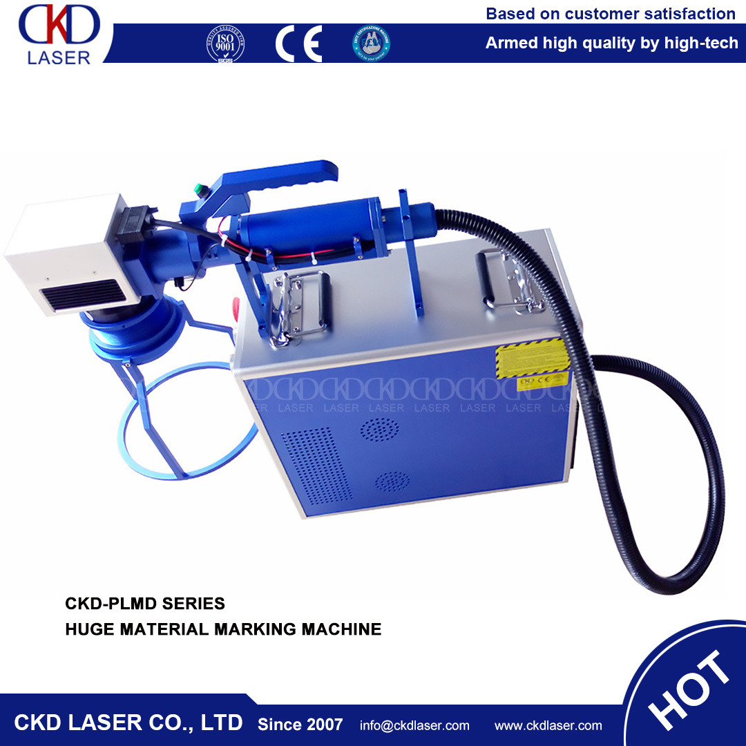 Handly Moving Operation Huge Mould Precise Laser Marking Machine