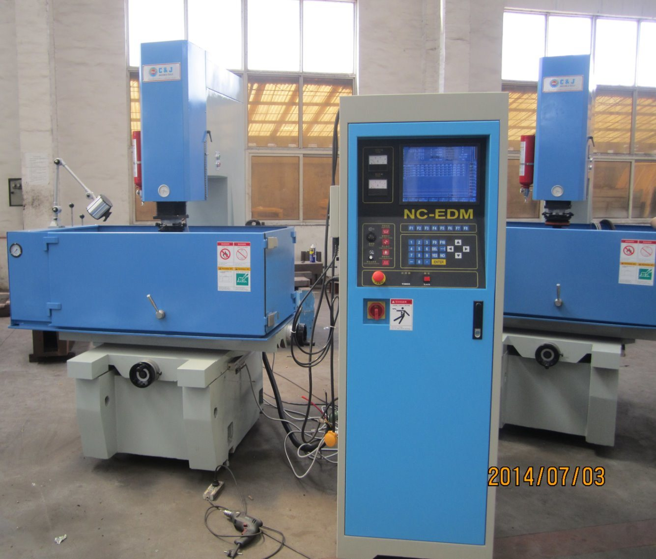 China CNC Sinker EDM Machine - CNC EDM (EDM540 / D7150) - China EDM ...