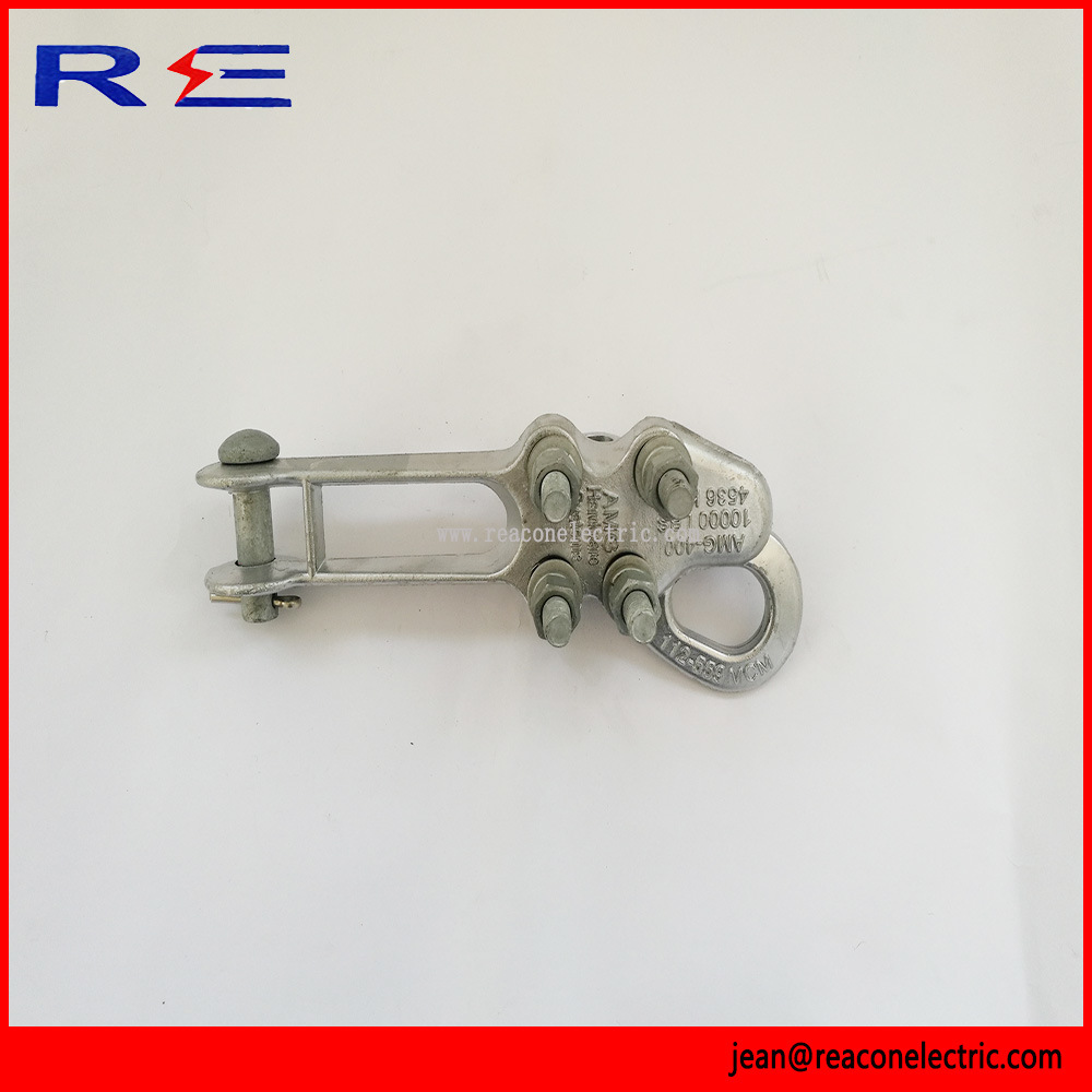 Straight Line Aluminum Strain Clamp for Pole Line Hardware