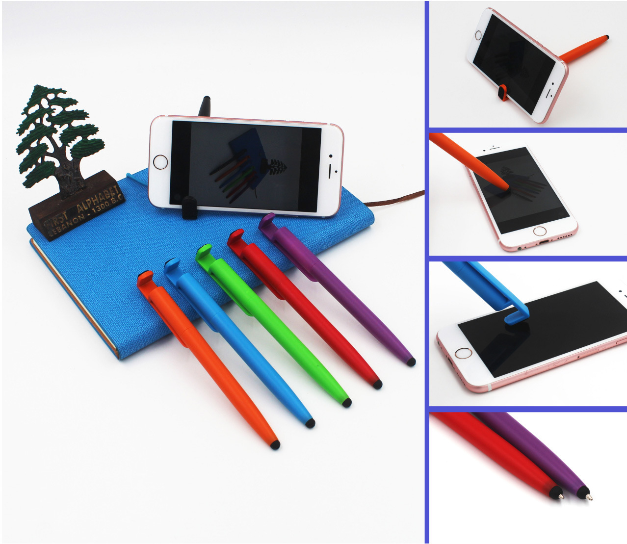 Universal Metal Touch Screen Stylus Pen for iPad iPhone  Smart Phone Tablet TC