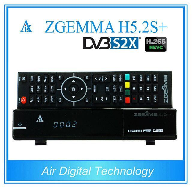 2017 New Powerful Zgemma H5.2s Plus Satellite Decoder Bcm73625 Linux OS E2 Hevc/H. 265 DVB-S2+DVB-S2/S2X/T2/C Triple Tuners pictures & photos