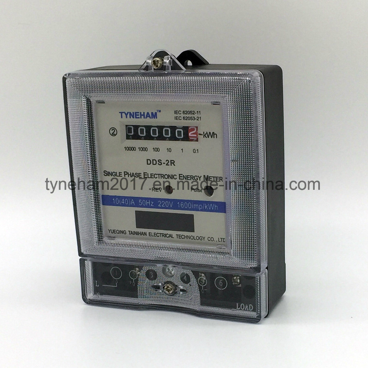 Dds-2r Single Phase Kwh Meter pictures & photos