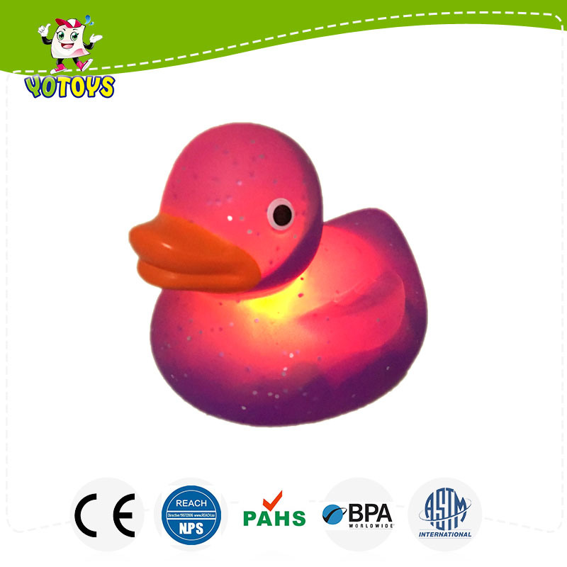 China Glitter Custom Vinyl Toys, Design Rubber Bath Duck, Dongguan ...