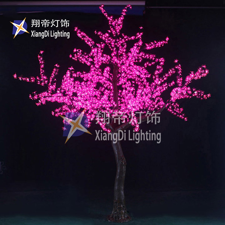China 2 8m Decorative Battery Led Light Trees Of String Lighting