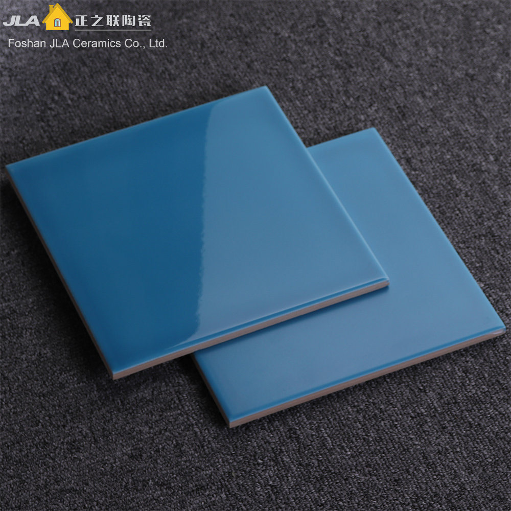 China Blue 8X8inch/20X20cm Lowes Ceramic Tile Flooring Style ...