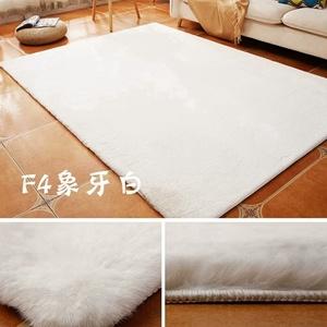 [Hot Item] Super Soft Polyester Rabbit Faux Fur Rug Carpet, White Bedroom  Livingroom Fake Faux Rabbit Fur Floor Shaggy Area Rugs