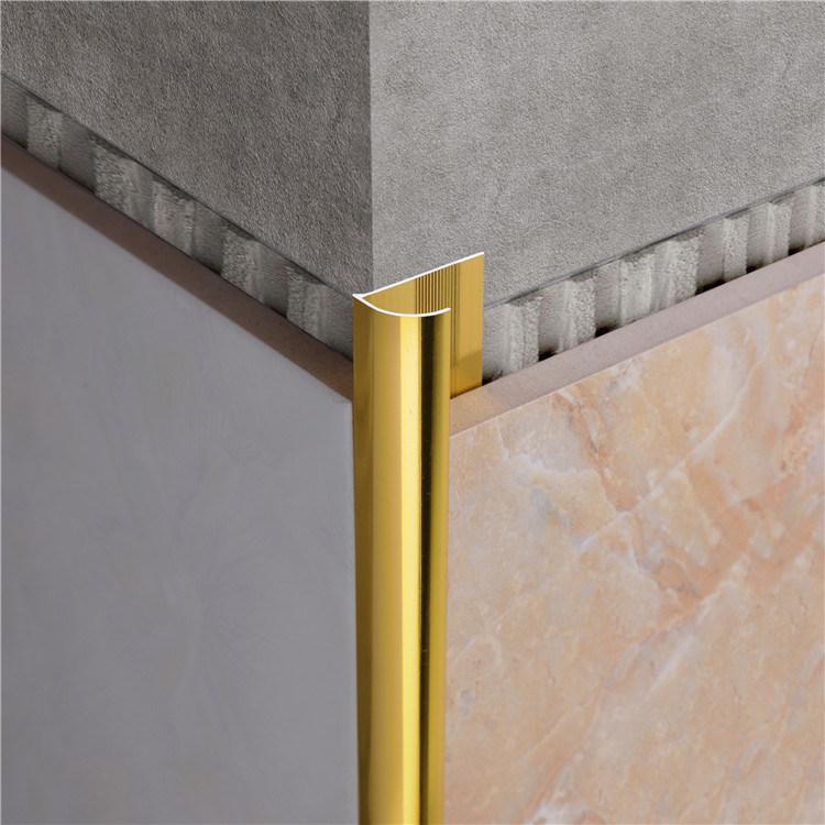 Metal Edging Aluminum Ceramic Tile