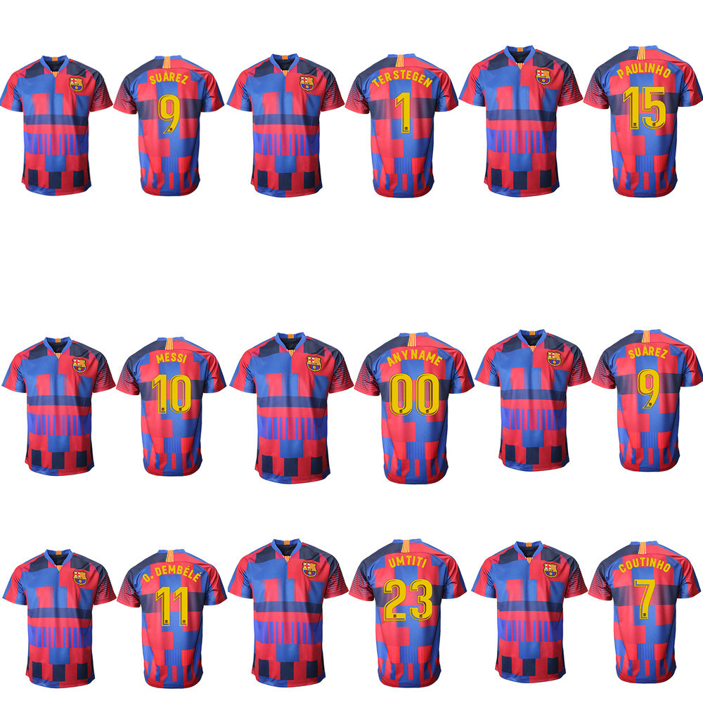 san francisco 182ce cce0b [Hot Item] Wholesale 2019 Thailand Messi Soccer Jersey Barcelona Football  Shirt