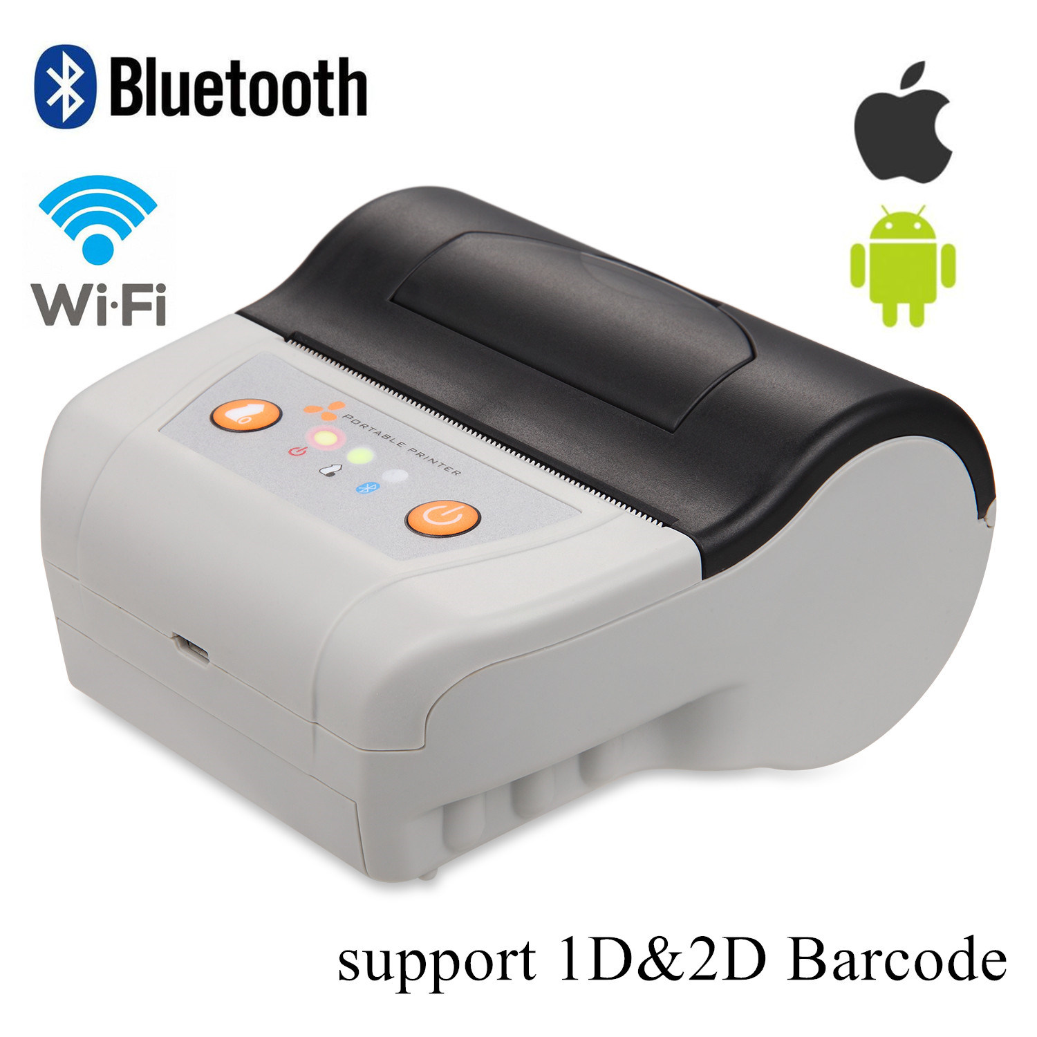 China 3 Inch Bluetooth Printers Android Handheld Mobile Thermal Printer Ts M330a China Printer Handheld Scanner Printer