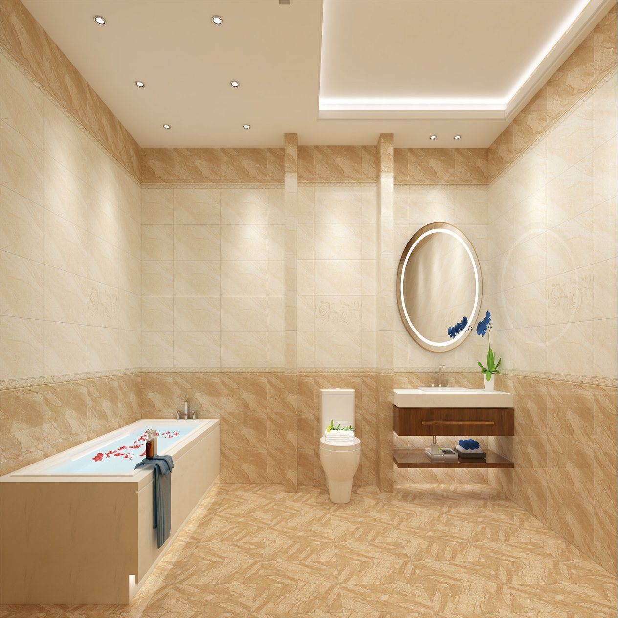 China 12x24 Ceramic Bathroom And Kitchen Wall And Floor Interior Brown Italy Design Tile Photos Pictures Made In China Com