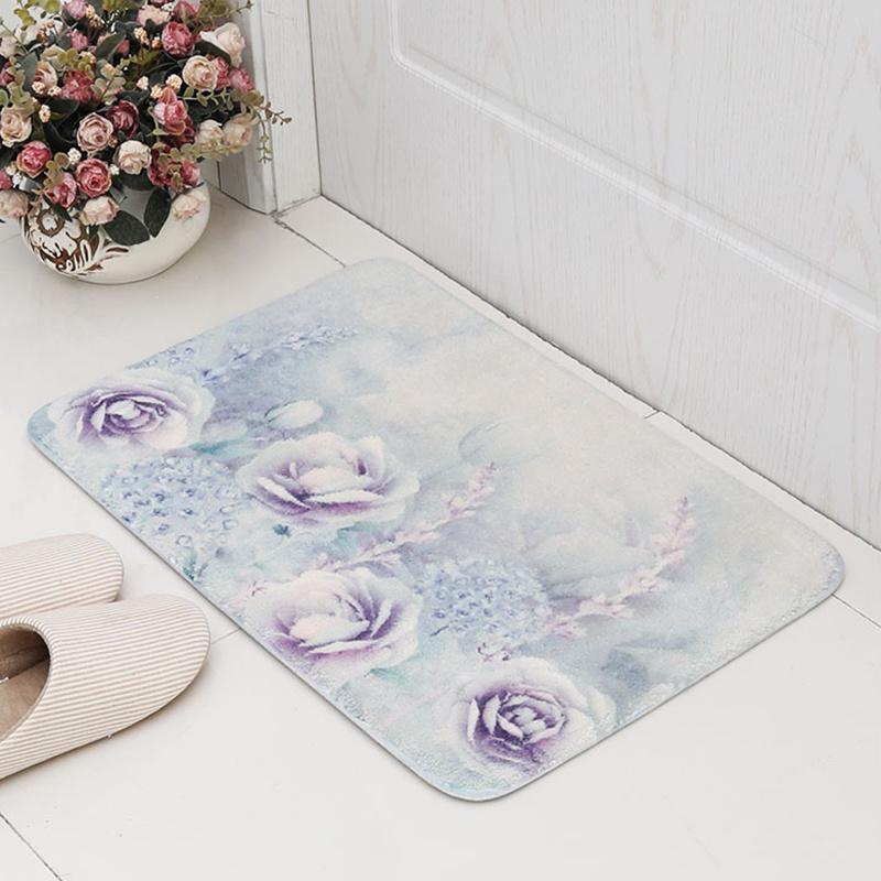 Luxury Shaggy Home Bath Rugs Mats
