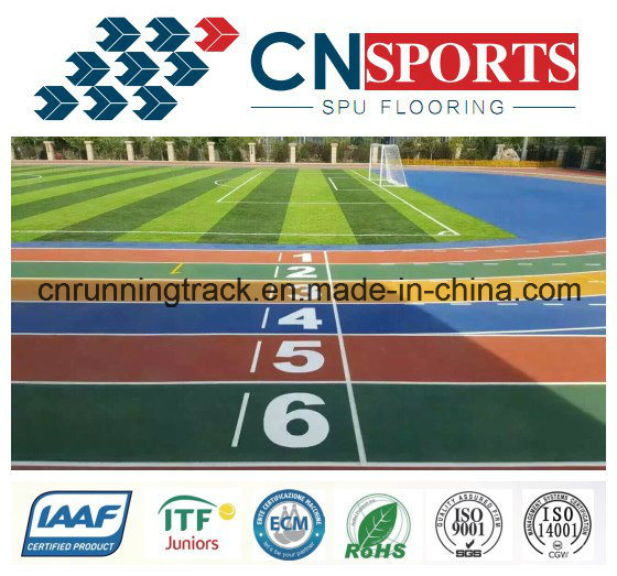 13mm Air Permeable Rubber Runway/Running Track for Park pictures & photos