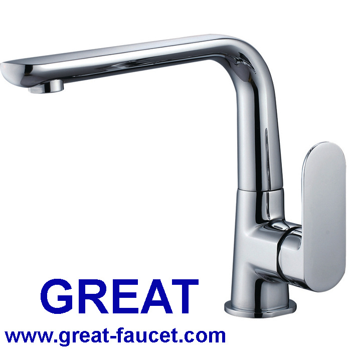 China New Launched Solid Brass Kitchen Faucet with Ce Certificate ...