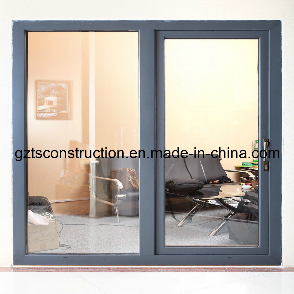 China Double Glazed Aluminum Sliding Doors Photos Pictures Made
