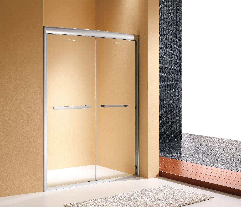 China Stainless Steel Frame Sliding Door Shower Room Screen Shower