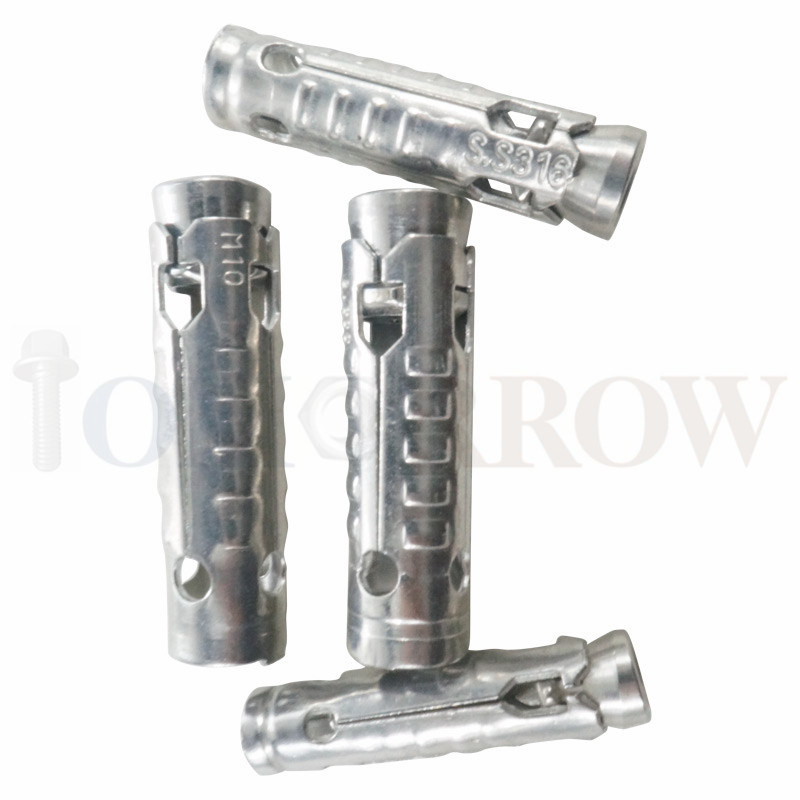 High Quality Stainless Steel 304/316 Wedge Anchor/ Through Bolt/ Expansion Bolt/ Anchor Bolt/ Tam Anchor/ Shell Bolt/ Sleeve Bolt/ Sleeve Anchor