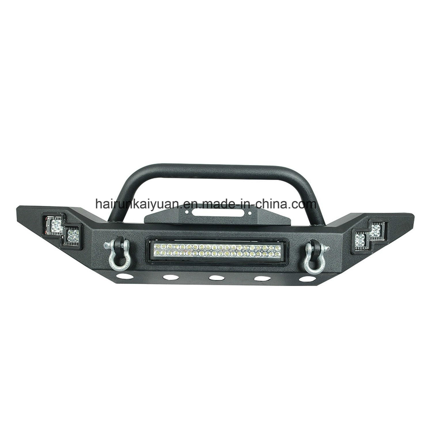 China JA1003 Front Bumper for Jeep Wrangler 07+ with