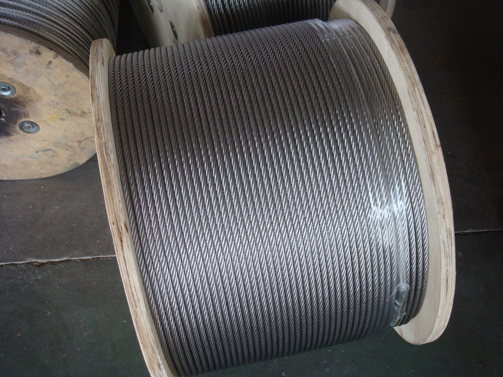 China Stainless Steel Wire Rope (AISI304 / 316) Railing, Fence ...