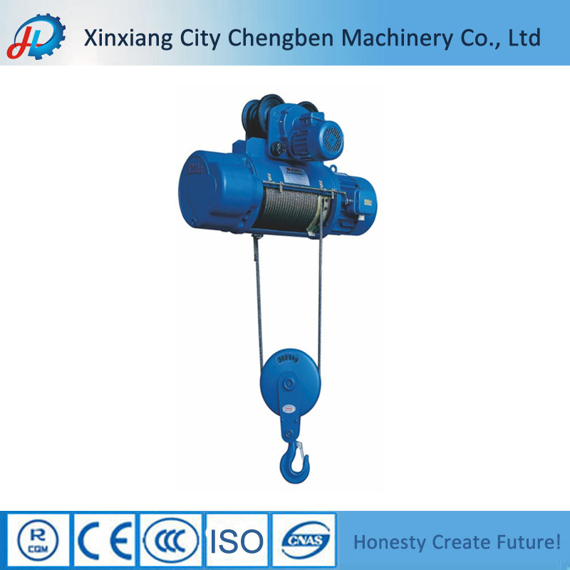 China CD/MD Type Small Overhead Crane Electric Wire Rope Hoist 0.5 ...