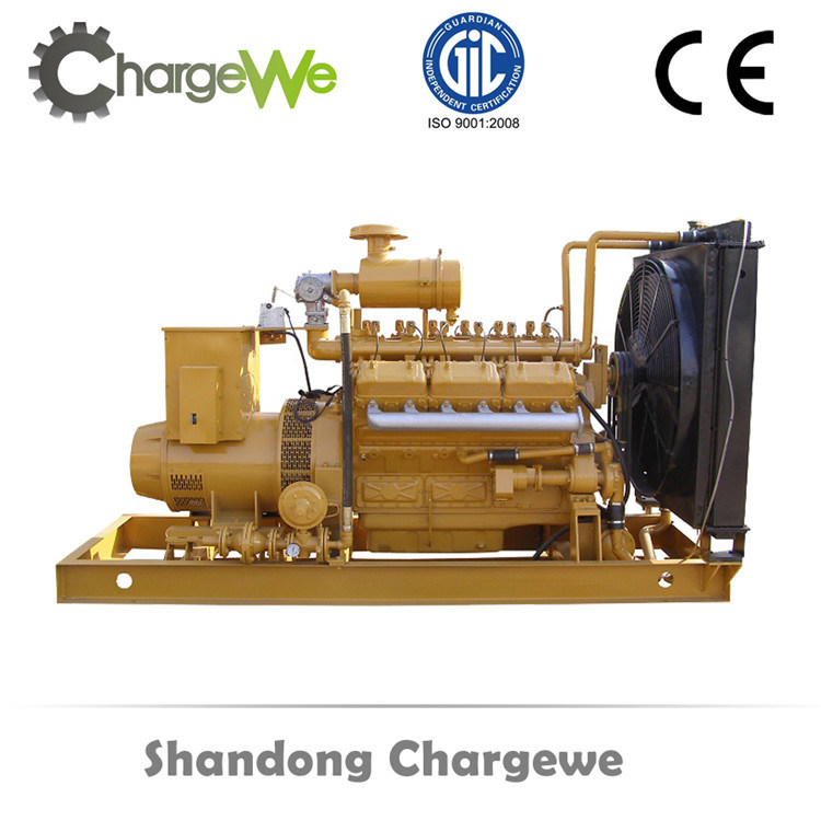 300kw Methane Gas Engine Power Silent Canopy Biogas Generator Set Electric Generator pictures & photos