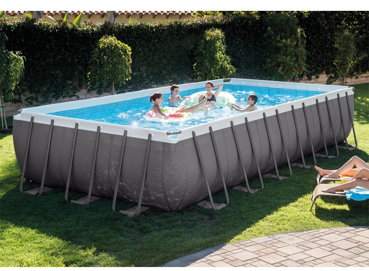 China 18ft X 9ft X 52in Wholesale Intex Ultra Above Ground Frame Piscinas Swimming Pool Intex Swimming Pool For Sale China Intex Swimming Pool And Piscinas Pool Price