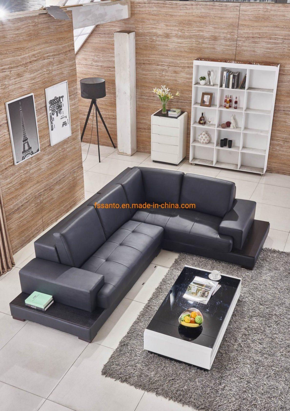 Sample Design Living Room Sofa, Black Leather Living Room Set