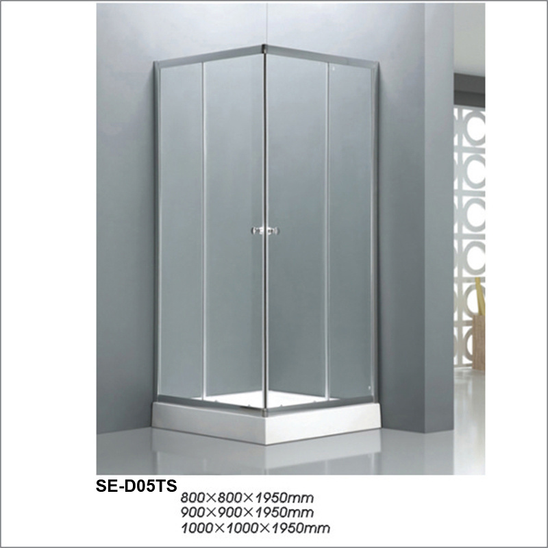 China Transparent Glass Four-Door Shower Cubicles 800*800*1950mm ...