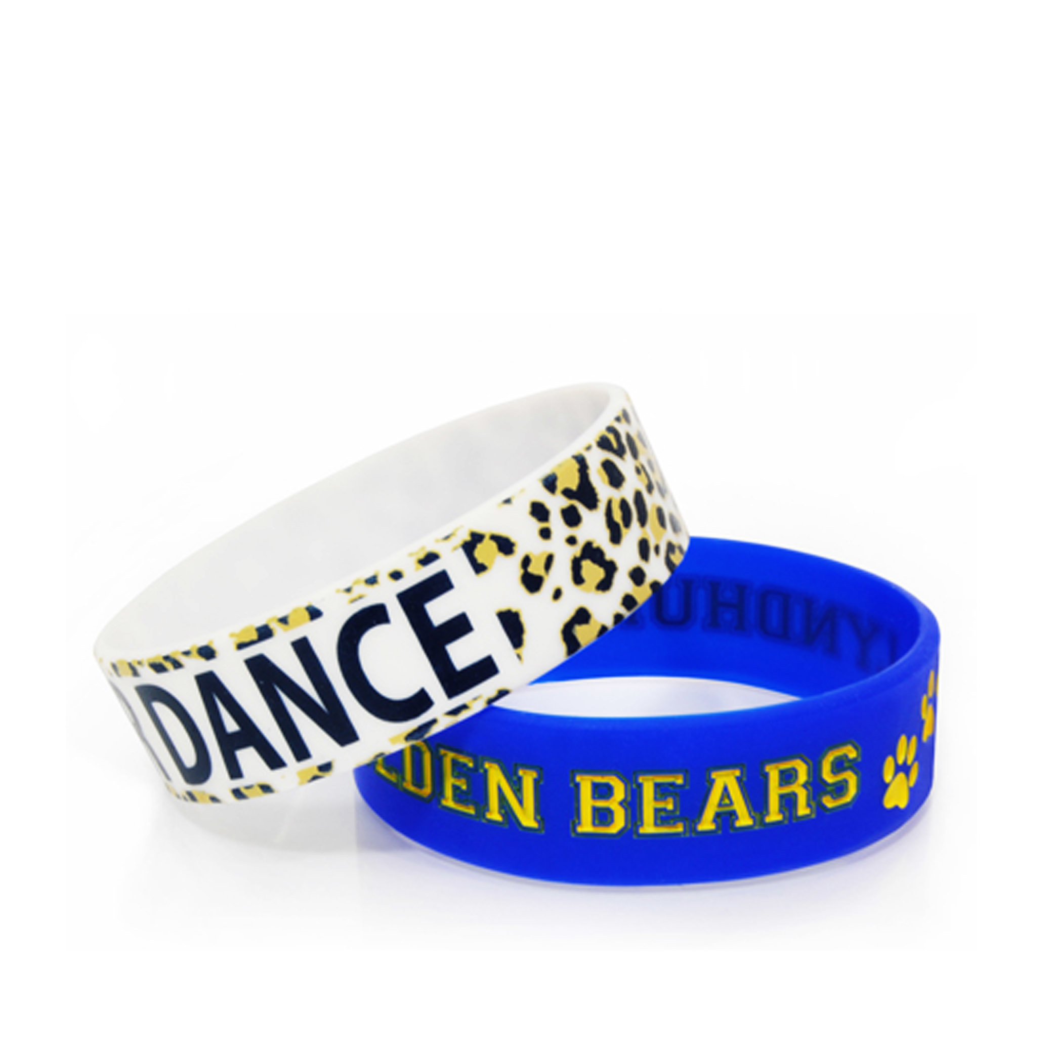 3/4 Silicone Wristband Bracelet Custom Logo pictures & photos