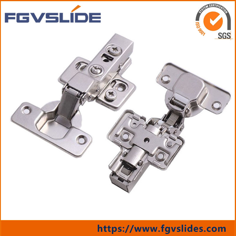 [Hot Item] Fgv Easy Fix Half Overlay Hydraulic Cabinet Hinges