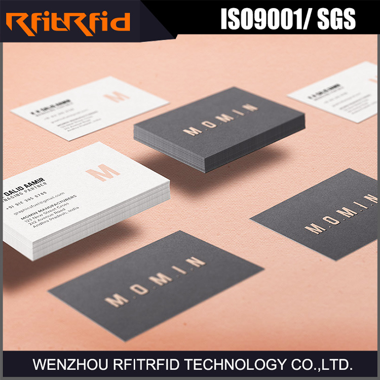 China 13.56MHz Printable NFC Business Card Paper - China NFC Card ...