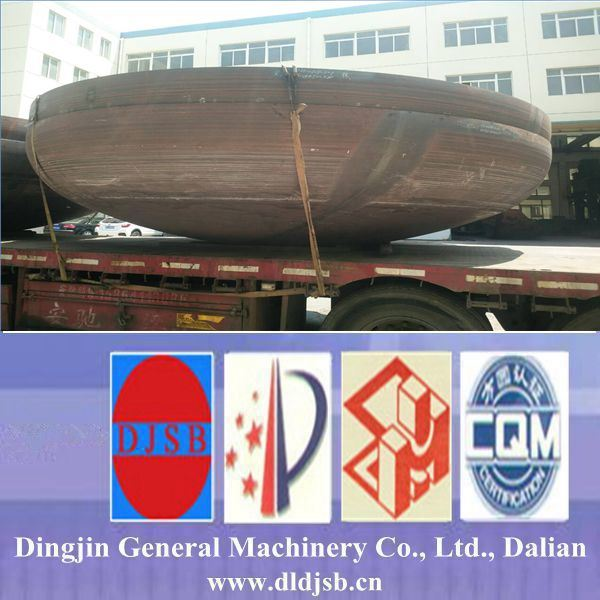 The Dish Head Manufactured by Dalian Dingjin Provide for Storage Tank