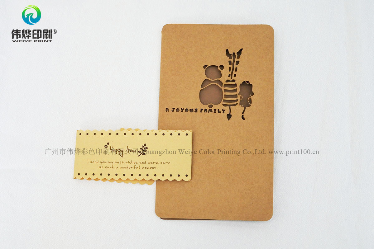 Latest Design Printing Craft Paper Invitation Card/Eco-Friendly Greeting Card pictures & photos