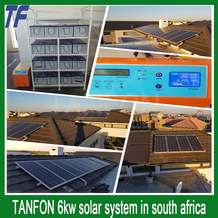Solar Power Storage System; PV Panel for Home Solar 10kw pictures & photos