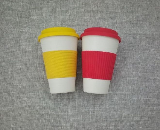 BPA Free Eco Bamboo Fiber Coffee Cup/Coffee Mug (YK-C10121) pictures & photos