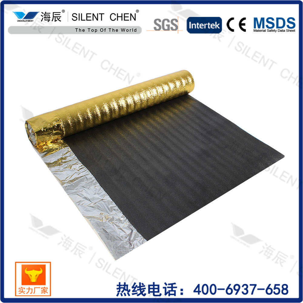 China Enought Thickness Laminate Flooring Underlay Foam Underlayment Waterproof Material