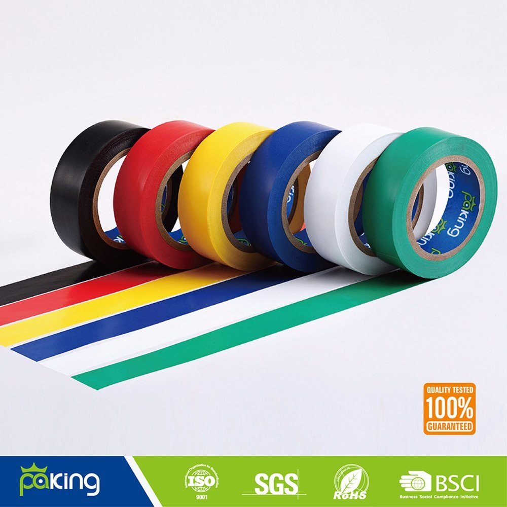 American Market Natural Rubber A Grade Color PVC Electric Insulation Tape pictures & photos