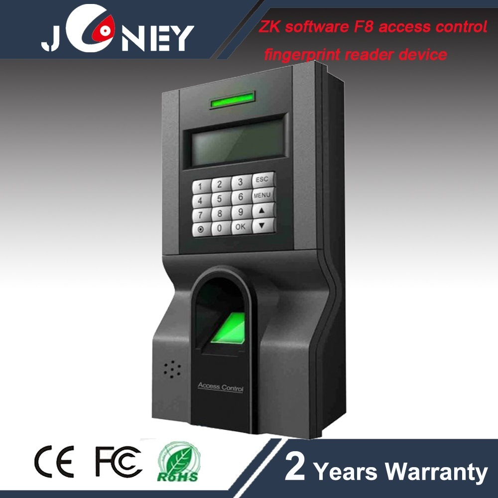 Zk F8 Standalone Access Control with Fingerprint Reader Keypad