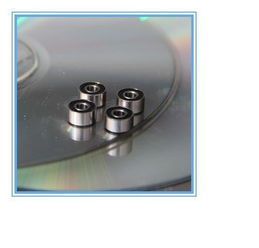 """Qty.10 R2-2RS rubber seals bearing R2-rs ball bearing 1//8/"""" x 3//8/"""" x 5//32/"""""""