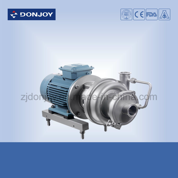 Self-Priming Pump Ss 304 Sic/Sic Mechanical Seal CIP Pump pictures & photos