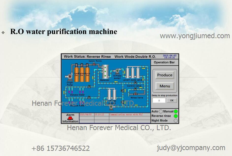 Manual on water treatment for hemodialysis monitoring your dialysis water treatment system northwest array china hemodialysis dialyzer blood dialyzer with 2 blood pump and rh forevermed en made fandeluxe Images