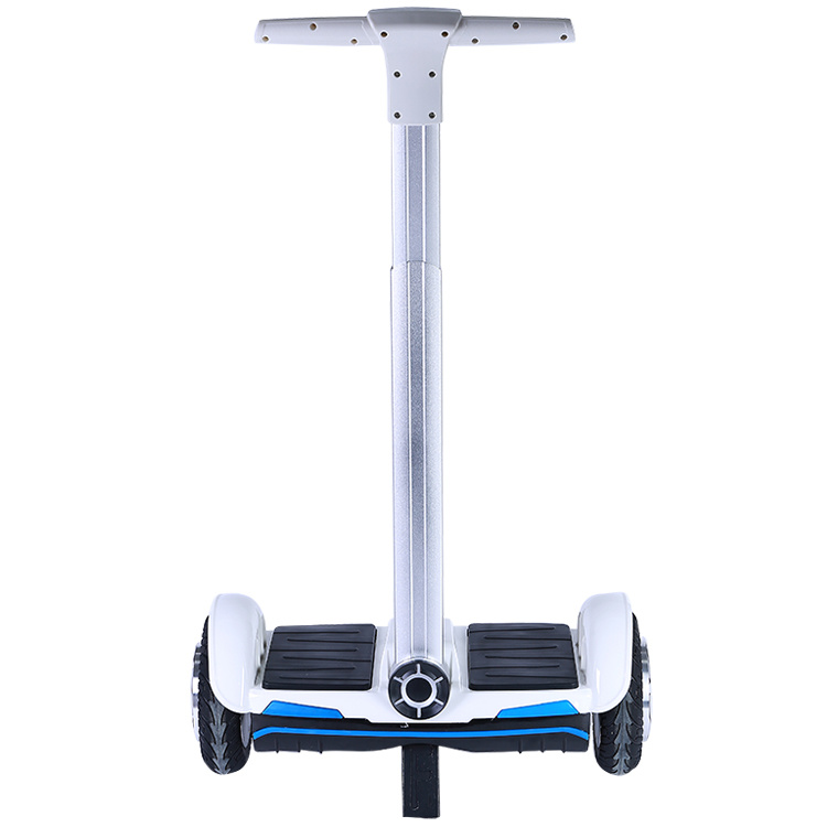 "Smartek 8"" Handle Cool and Safe Unfoldable Unicycle Mini Two Wheel Electric Standing L Balanced Hoverboard Scooter Patinete Electrico S-011"