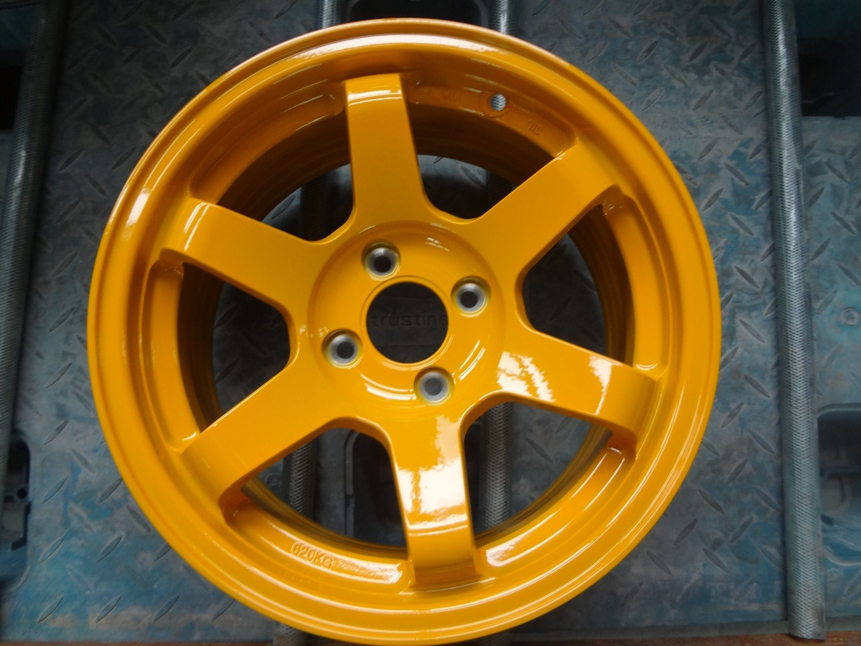 China 17 Inch Alloy Wheel Aluminum Rim 4X100 4X114 3 5X100 5X114 3