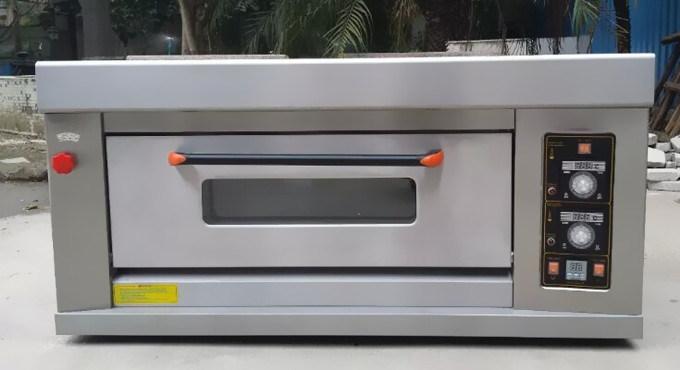 China Cheap Price Single Deck 2 Trays Small Gas Baking